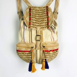 Bohemian Hippie Festival Tassle Backpack